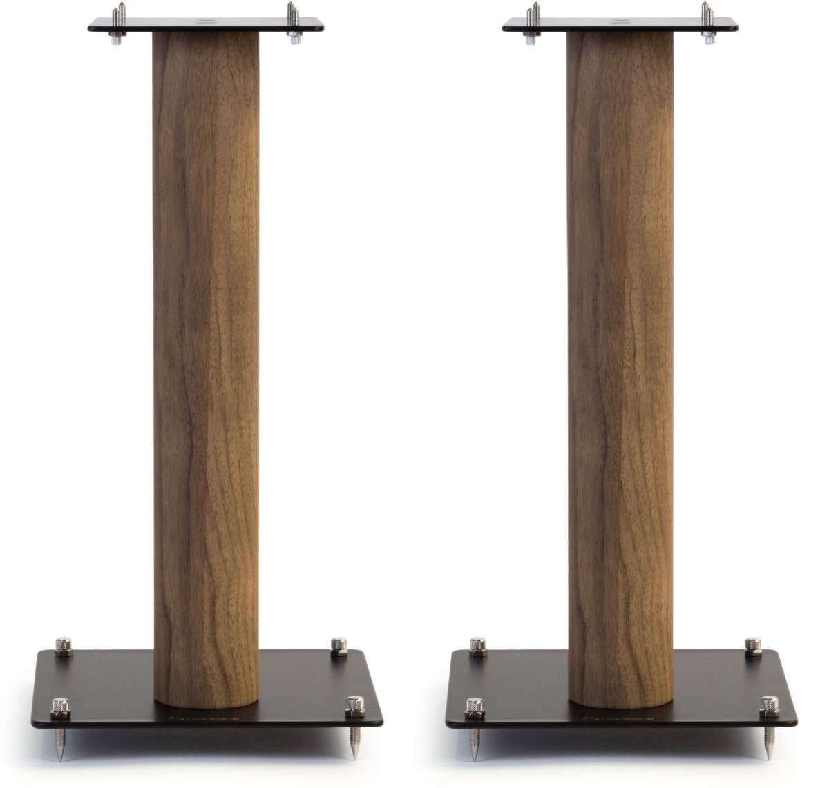 Norstone Lautsprecherständer Stylum, stabil aus Metall, bis 50kg belastbar, Paarpreis (Stylum 1 (50cm), Eiche (Dekor))