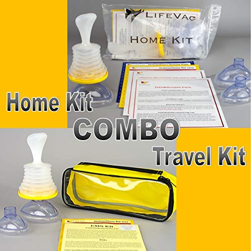 Science Lab System - LifeVac Home and Travel Combo Kits