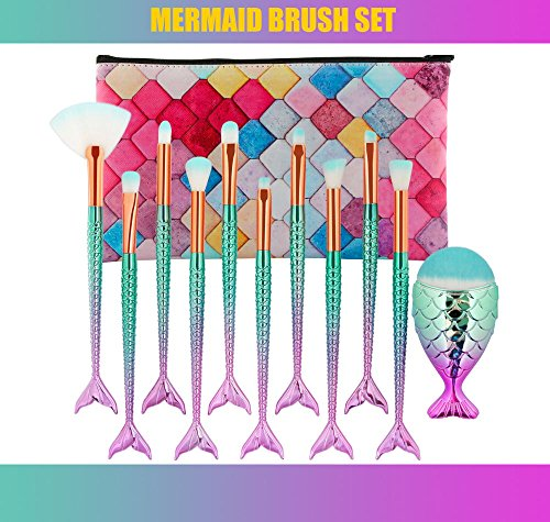 Eye Crown Synthetic Quality Good Makeup Brushes Set with Cas