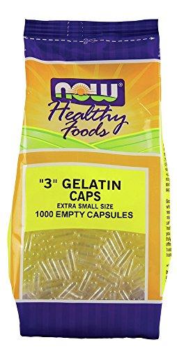 Gelatin Caps Now Foods 1000