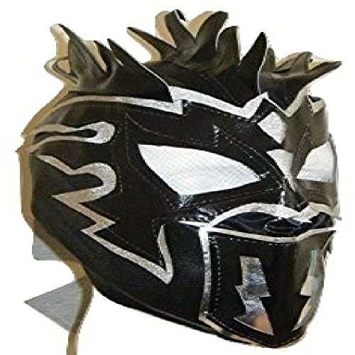 WRESTLING MASKS UK Kalisto - Deluxe Childrens The Lucha Dragons Zip Up Mask by Wrestling