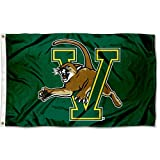 College Flags and Banners Co. Vermont Catamounts Green Flag