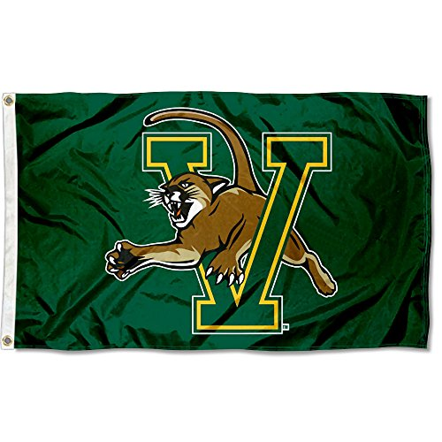 College Flags and Banners Co. Vermont Catamounts Green Flag by College Flags and Banners Co.