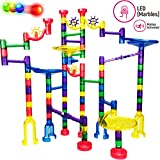 Thinkbox Toys Marble Race Game - LED Marbles Light Up This Marble Run