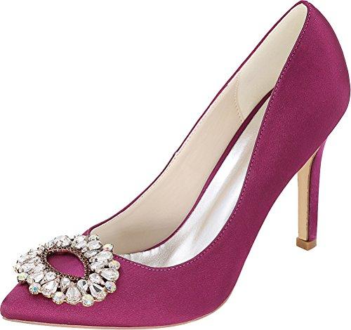Salabobo Sandales Compensées Femme - Violet - Violet, 36.5 EU