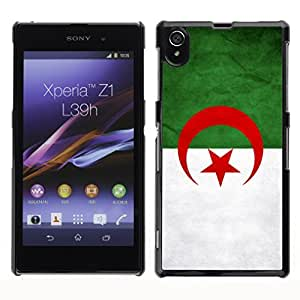YOYO Slim PC / Aluminium Case Cover Armor Shell Portection //Algeriga Grunge Flag //Sony L39