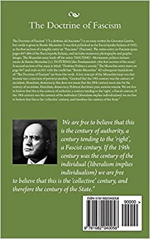 the doctrine of fascism Full-text paper (pdf): analysis of the doctrine of fascism.