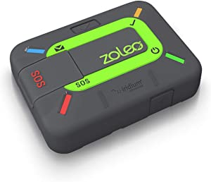 ZOLEO Satellite Communicator – Two-Way Global SMS Text Messenger & Email, Emergency SOS Alerting, Check-in & GPS Location – Android iOS Smartphone Accessory