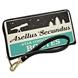 Wallet Clutch Star Constellation Name Bootes - Asellus Secundus with Removable Wristlet Strap Neonblond