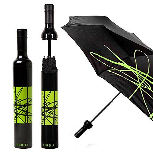 VINRELLA Wine Bottle Umbrellas (Artistic -
