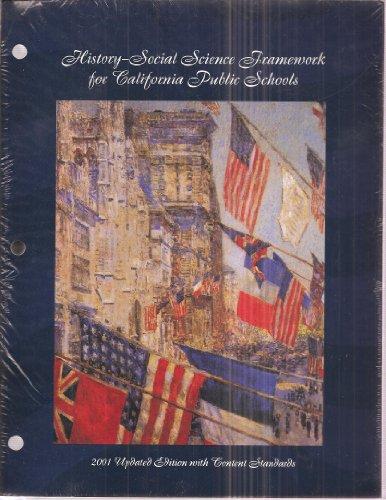 History-Social Science Framework for California Public Schools K-12, 2001 updated