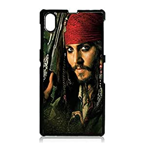 Hipstar Pirates of the Caribbean Phone Case Cover for sony?xperia?Z1 Pirates of the Caribbean Funny