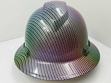 Wet Works Imaging Customized Pyramex Full Brim Neo Chrome Carbon