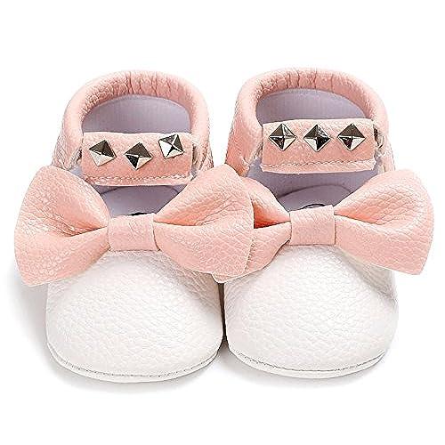 les clients d'abord paquet à la mode et attrayant nouveau style Happy Cherry Chaussures Premier Pas en Cuir pour Bébé Fille ...