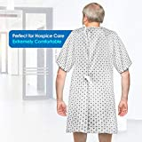 Hospital Gown (2 Pack) Cotton Blend Useful