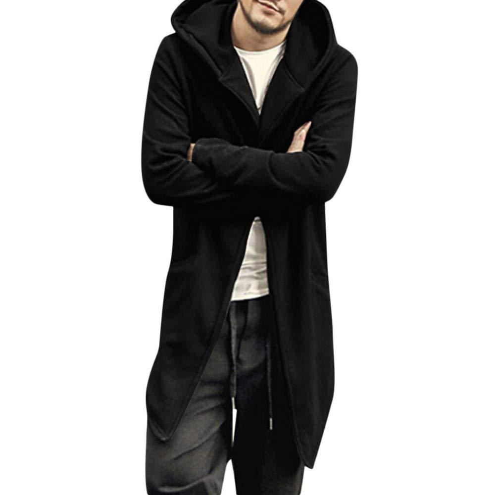 Zolimx Giacca Uomo Invernale Offerta, Camicia da Donna Trench Coat Outwear da Uomo