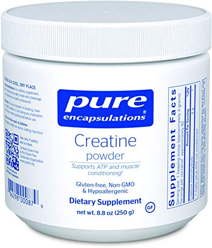 Pure Encapsulations - Creatine Powder - Hypoallergenic Strength and Conditioning Support Formula for Athletes* - 250 Grams ()