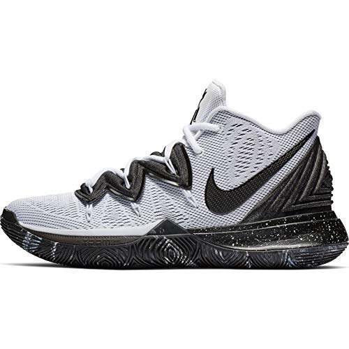 Nike Mens Kyrie 5 Kyrie Irving/White Nylon Basketball Shoes 10 M US