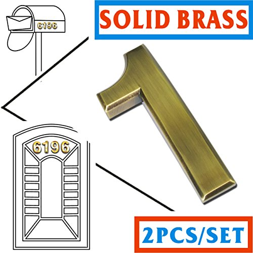 2-packs-magicdo-self-stick-solid-brass-number2-3-4-inch-modern-mailbox-number-modern-house-door-numb