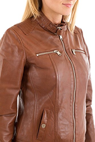 Brown Donna Cognac giacca Misha Redskins nzZxqUwnf