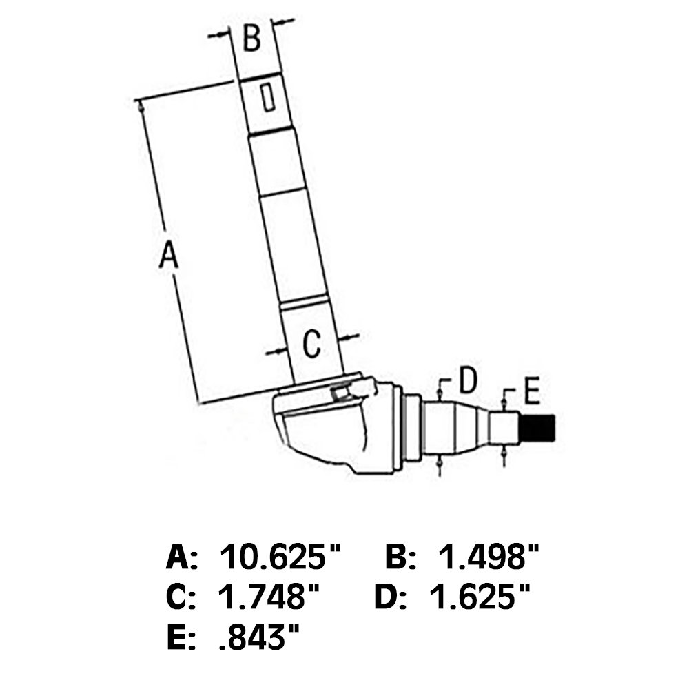 Ford 5000 Tractor Parts Diagram Front Spindles Wiring 6600 Harness Amazon Com C5nn3105a Right Hand Spindle For 7000
