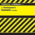 CliffsNotes: Shakespeare's Sonnets, 1st Edition Audiobook by James K. Lowers Narrated by Luke Daniels