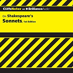 CliffsNotes: Shakespeare's Sonnets, 1st Edition