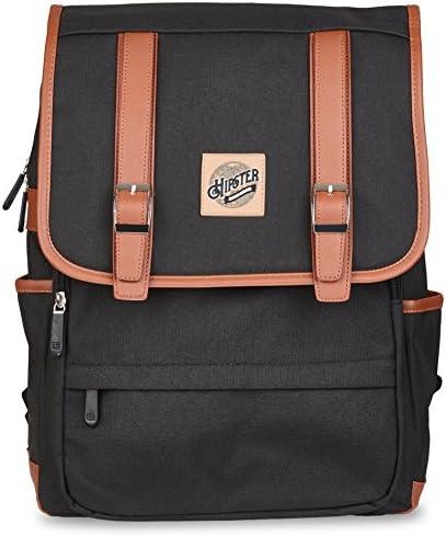 Hipster Haven Backpack- black