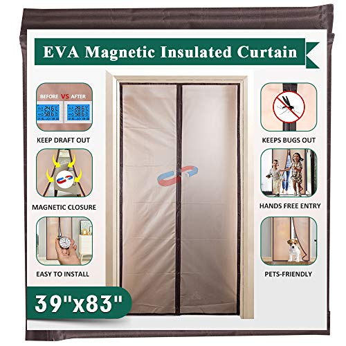 Insulated Magnetic Door Curtain