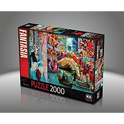 Sk Jigsaw Puzzle 2000 Pieces Aimee Stewart Venice Carnival