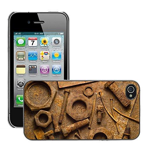 Premio Sottile Slim Cassa Custodia Case Cover Shell // V00002023 Rouille // Apple iPhone 4 4S 4G