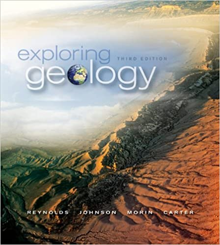 exploring geology 3rd edition answer key
