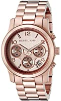 Michael Kors Women's MK5128 Runway Rose Gold-Tone Stainless Steel Watch