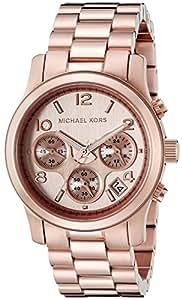 Michael Kors Women's MK5128 Runway Rose Gold-Tone Stainless Steel Watch