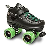 Sure-Grip ROCK GT50 TWISTER ROLLER SKATES W/GREEN TWISTER ANG GREEN LACE SIZE 13