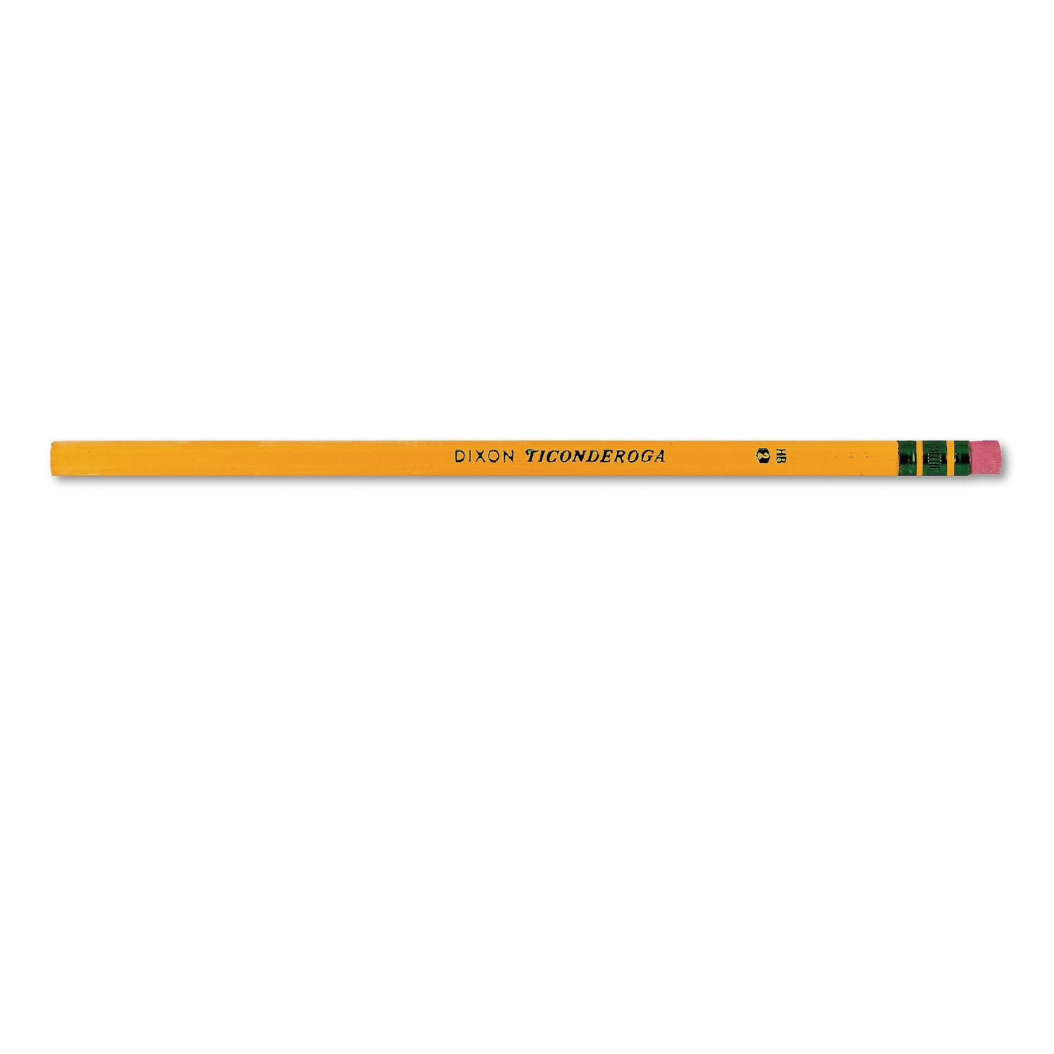 Ticonderoga SLGJHJ Woodcase Pencil, HB #2, Yellow Barrel, 96/Pack 4 Pack by Ticonderoga (Image #4)