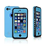 TPLB High Performance Waterproof Case for iPhone 5C-Teal