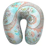Multifunctional Neck Pillow Meditation U-Shaped Soft Pillows Convertible Portable For Reading,Sleeping On Airplanes,Train,Car,and Travel