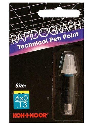 Koh-I-Noor Rapidograph No. 72D Replacement Points 1.00 mm stainless steel - Points Replacement 72d
