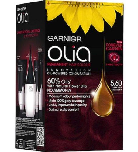 Garnier Olia 5.60très profond Rouge marron–Coloration Permanente Teinture