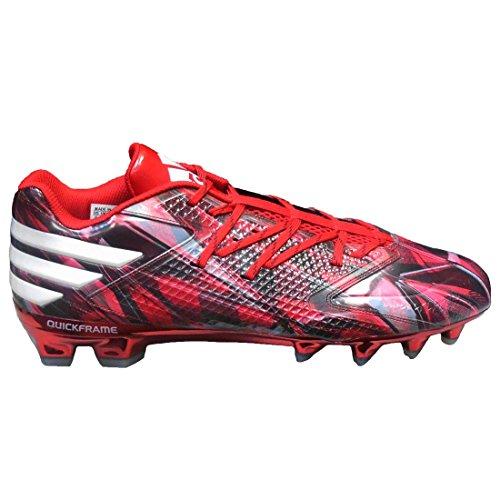 Adidas Heren Freak Low Mantr Voetbal Schoenplaatjes Power Rood / Wit / Core Zwart