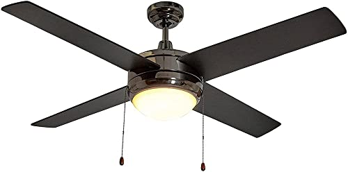 Hamilton Hills Black Ceiling Fan