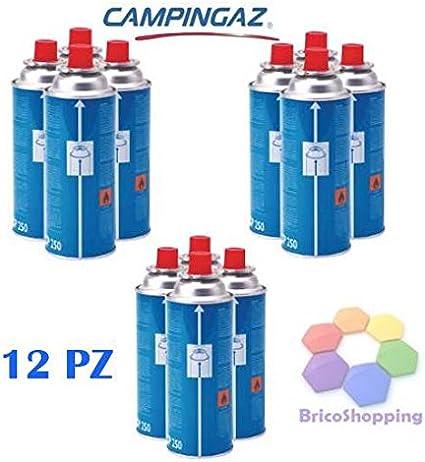 BricoShopping 12 Cartuchos de Gas butano CP 250 para ...