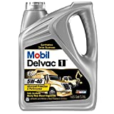 Mobil (112825-4PK) Delvac 1 ESP 5W-40 Motor Oil - 1 Gallon, (Pack of 4)