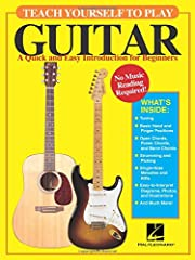 (Guitar Educational). Teach Yourself to Play Guitar has been created specifically for the student with no music-reading background. With lesson examples presented in today's most popular tab format, which also incorporates simple beat notatio...