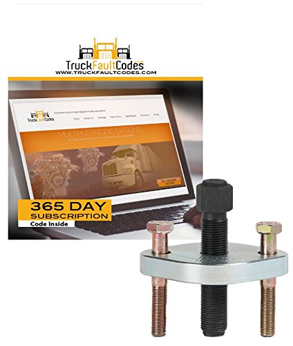 Tiger Tool Bolt-Retained Bearing Cup Installer with 12 month subscription to TruckFaultCodes