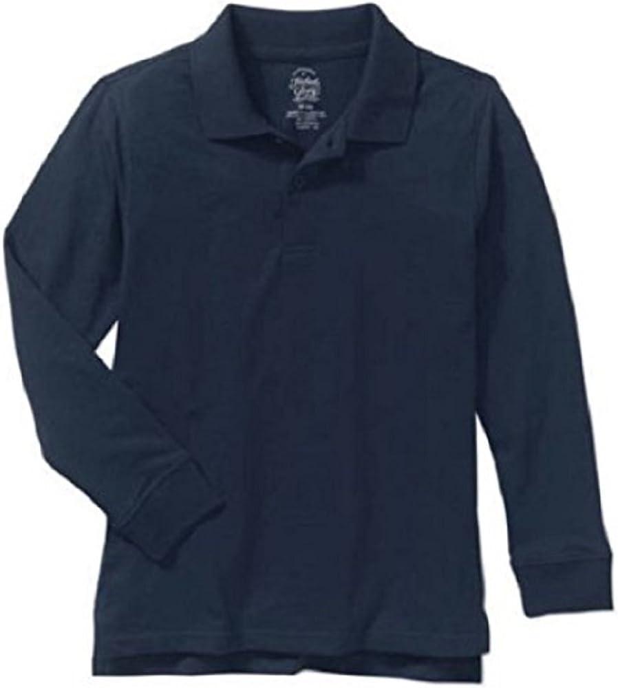 FADED GLORY garçons à manches courtes rugby V Neck T Shirt suie noire taille 2XL 18