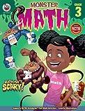 Monster Math, Grade 3, Carson-Dellosa Publishing Staff, 0768240239