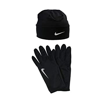 Nike Men S Dry Gloves And Hat Amazon Co Uk Sports Outdoors