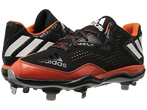 adidas Performance Men's Poweralley 4 Baseball Shoe - Bla...